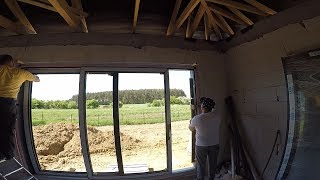 Jak zamontować drzwi tarasowe w systemie HS? Jak montujemy okno narożne? Vetrex.