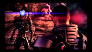 Mass Effect 3 - Peace between geth and quarians ( Renegade speech )