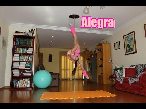 Alegra -Tutoriais de Pole Dance por Alessandra Rancan