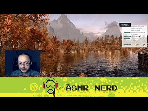 Twitch Archive | ASMR-ish Let's Play Skyrim! | 7 | The F-Bomb