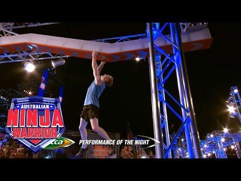 Performance of the Night: Rob Patterson (Semi Final)   Australian Ninja Warrior 2018