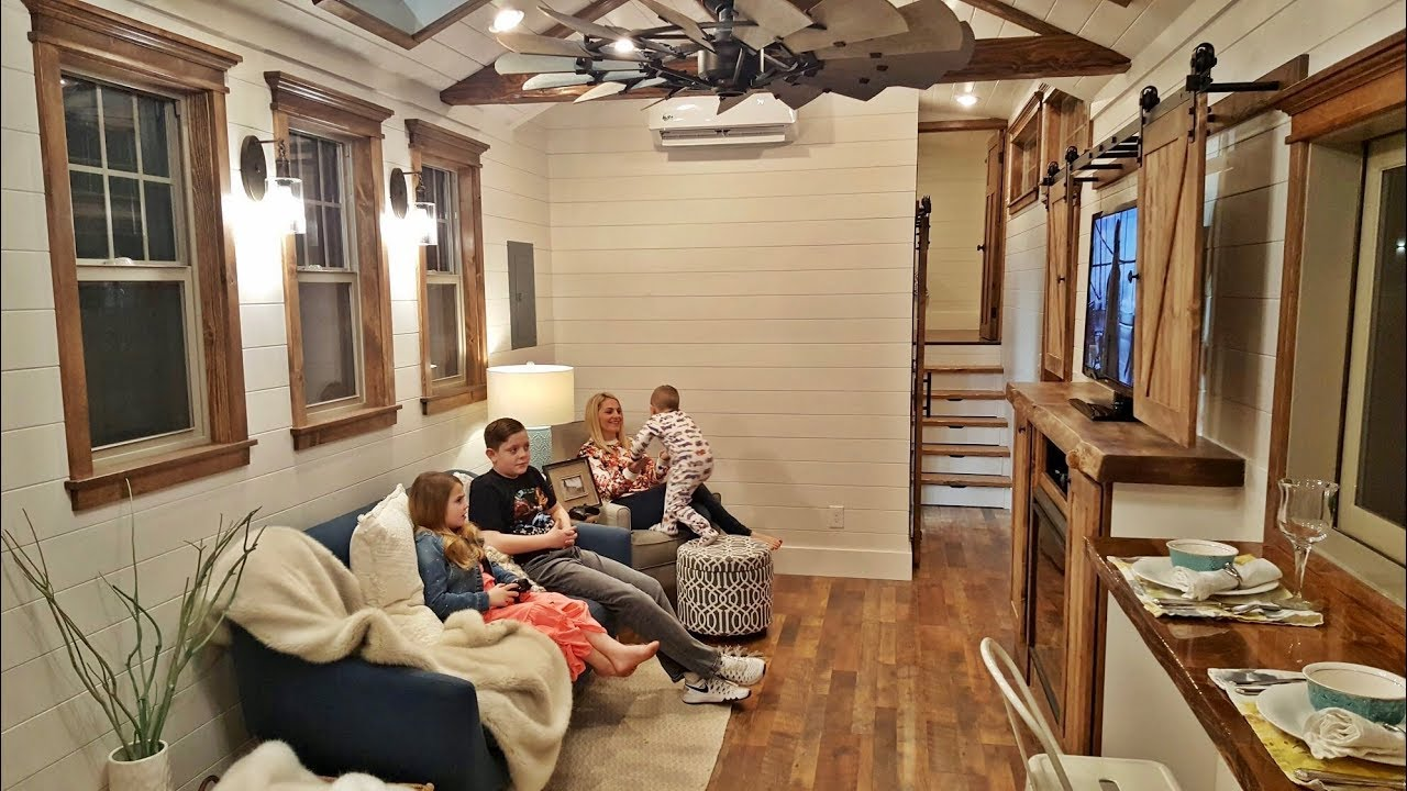 Sonoma Fire Victims Build Gorgeous Tiny House - YouTube on