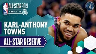 Best Of Karl-Anthony Towns 2019 All-Star Reserve | 2018-19 NBA Season