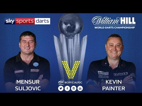 2018 World Darts Championship Round 1 Suljovic vs Painter