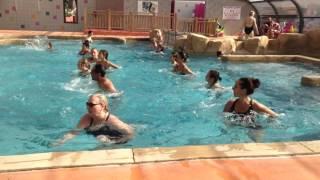 Cours d'aquagym aux Albères