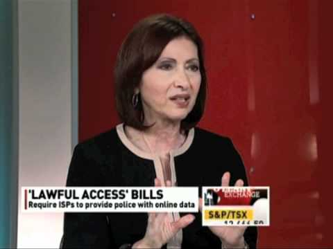 Ontario Privacy Commish on Online Spying Bills (CBC interview)