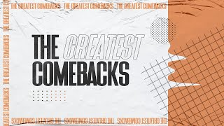 The Greatest Comebacks Series / Week 5 / Ps Adon Gilchrist