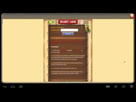 Castle Clash-How to claim your 800 Shards & SHC when getting errors!!!
