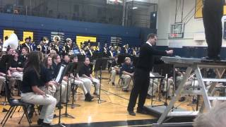 Hastings Middle School & High School Marching Band Fall Concert