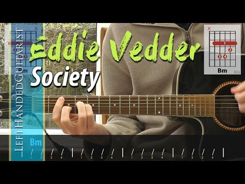 Eddie Vedder - Society guitar lesson