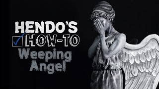 HOW-TO: Doctor Who Weeping Angel