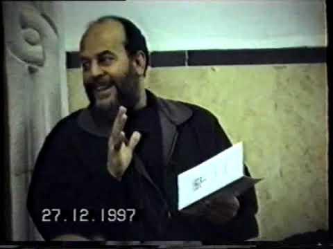 """بسّام جرّار-"""" قضايا مهمة""""- لقاء مفتوح ---  27- 12- 1997م"""