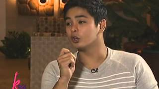 Coco Martin shows the photos of old house