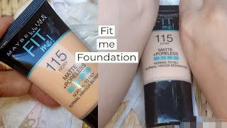 Maybelline FIT me Liquid Foundation - 115 Ivory