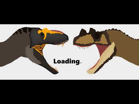 ASDC2 - Lythronax vs Ceratosaurus