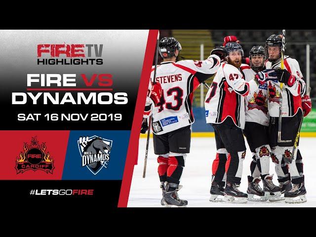 Cardiff Fire v Invicta Dynamos 16/11/19