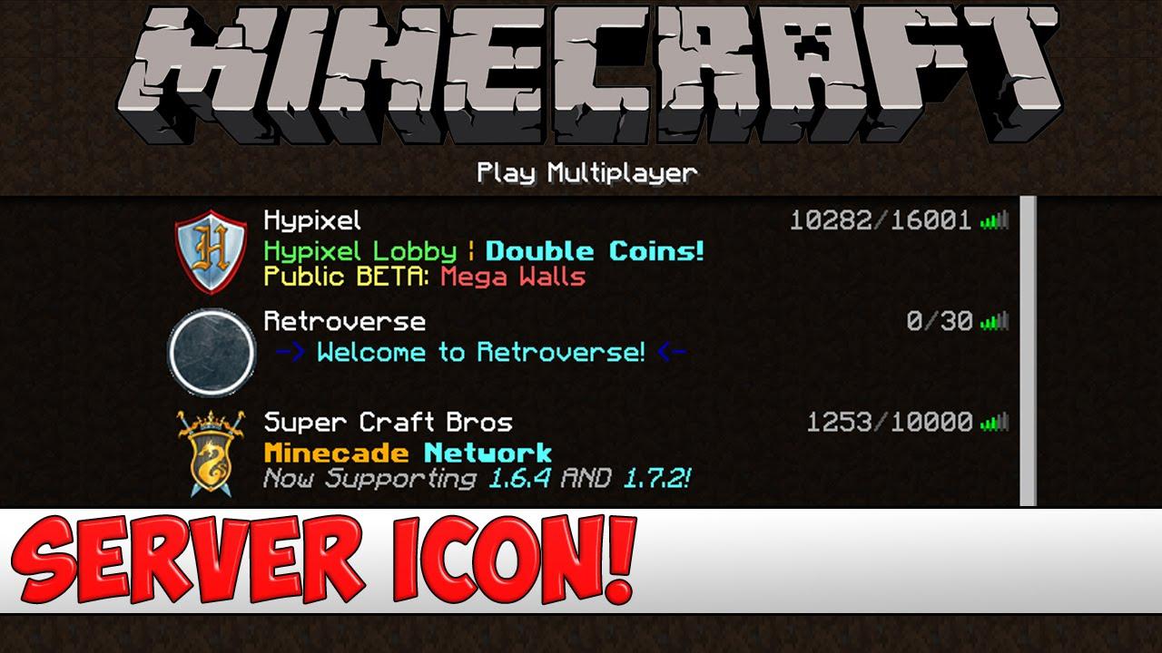 Minecraft Server Tutorial How To Get A Server Icon For Bukkit - Minecraft server icon erstellen online