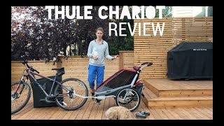 Thule Chariot Review with infant sling (2017)