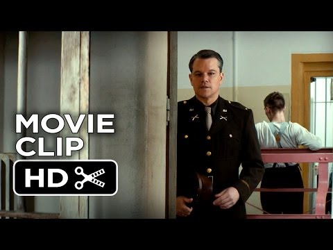 The Monuments Men Movie CLIP - Speaking French (2014) -  Cate Blanchett Movie HD