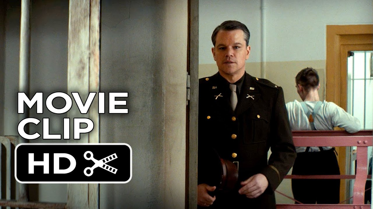 Download The Monuments Men Movie CLIP - Speaking French (2014) -  Cate Blanchett Movie HD
