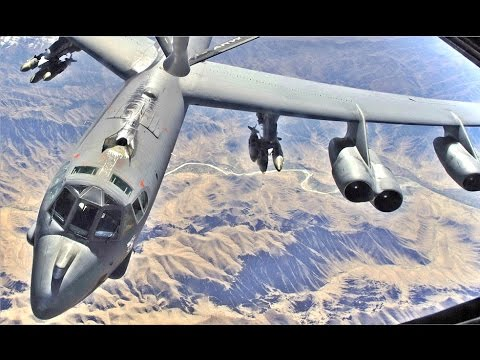 Worlds MOST POWERFUL !!! US Air Force B-52 Strategic Aircraft