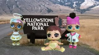 💦LOL Surprise! | Stop Motion Video | Yellowstone Geysers 💦