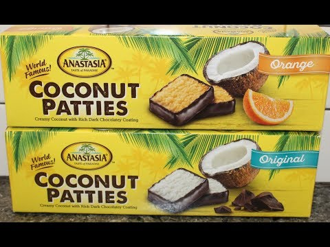 Anastasia Coconut Patties: Original & Orange Review