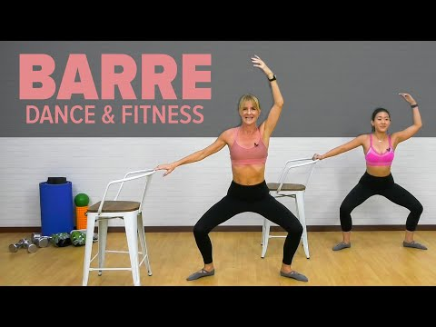 Live BARRE Workout at Home - Dance & Fitness l Joanna Soh
