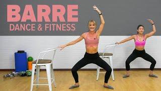 Live BARRE Workout - Dance & Fitness l Joanna Soh