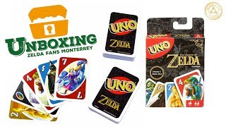 Unboxing - UNO edición The Legend of Zelda