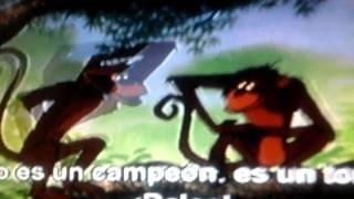 The Juugle Book - Monkeys kidnapped Mowgli