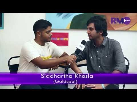 RNM EXCLUSIVE: Goldspot front-man Siddhartha Khosla talks NH7 Weekender, The Royals and new album
