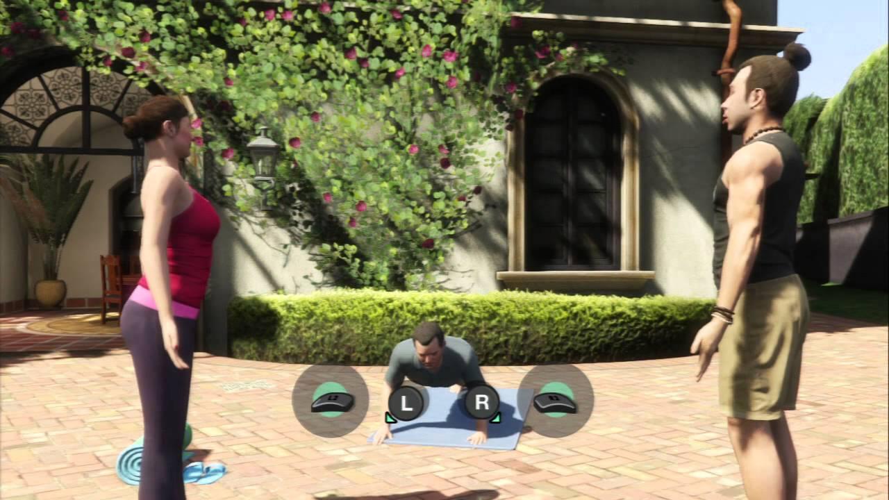The purpose of yoga in GTA? : GrandTheftAutoV
