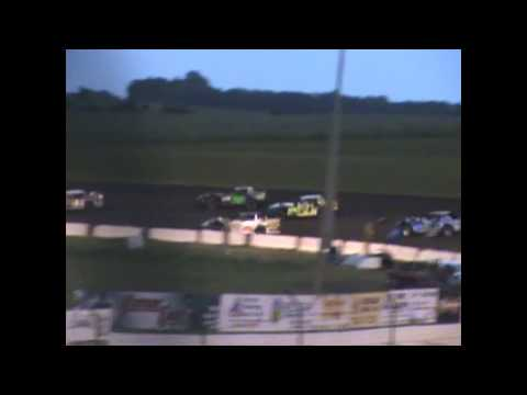 Zach VanVoorst I 90 Speedway june 27,2015 LMSS