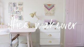 Office Overhaul Part 2 | Home Office Room Transformation