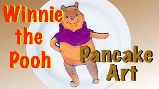 Dad's Pancake Art - Winnie the Pooh