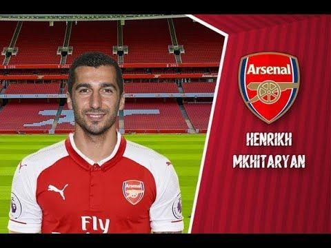 Генрих Мхитарян Добро пожаловать в Арсенал