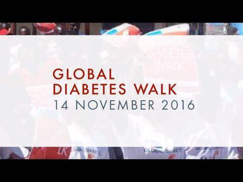 Global Diabetes Walk 2016