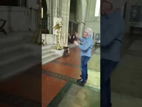 Practice with Church Choir Master Gary