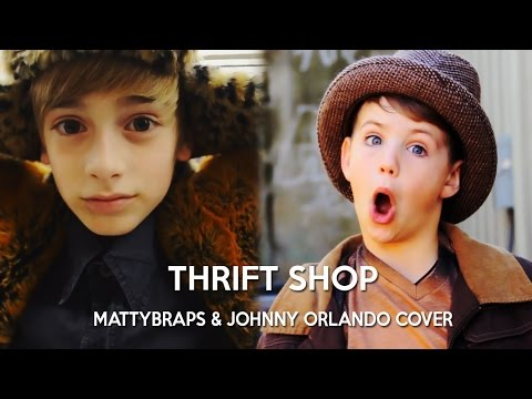 MACKLEMORE & RYAN LEWIS - THRIFT SHOP FEAT. WANZ (MATTYBRAPS & JOHNNY ORLANDO COVER)