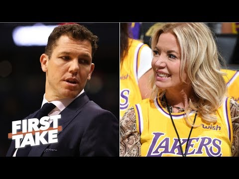 Will the Lakers fire Luke Walton despite Magic Johnson's resignation? | First Take