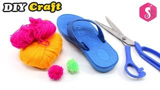 Turn Old Flip Flops into Awesome Sandals at Home | Easy Craft Idea | Sonali Creations