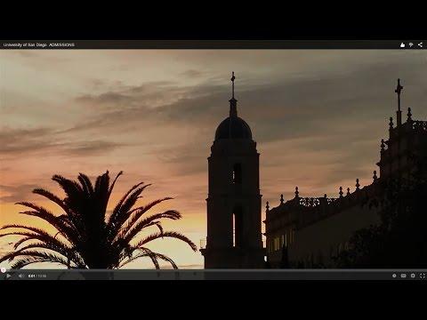 University Of San Diego Undergraduate ADMISSIONS