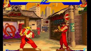 English friendly Saturn imports - Street Fighter Zero (Street Fighter Alpha)