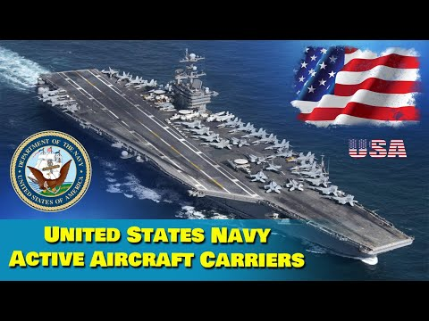 United States Navy Active Aircraft Carrier
