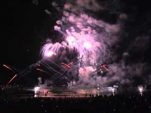 Territory Day Fireworks at Mindil Beach, Darwin, NT, Australia, 01.07.2015,