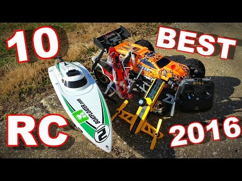 Top 10 BEST RC Vehicles 2016 Drones & More! - TheRcSaylors