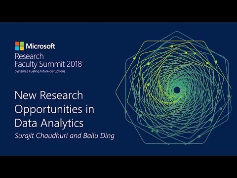 Research In Focus: New Research Opportunities In Data Analytics