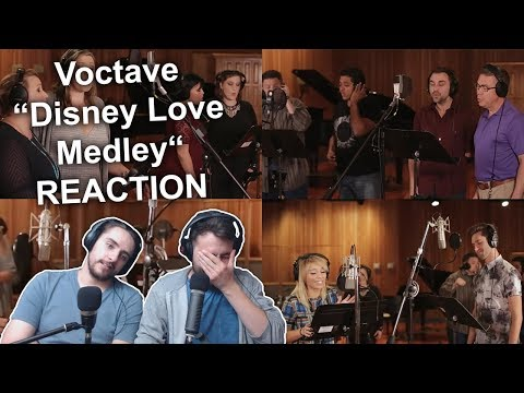 """Voctave - Disney Love Medley"" Singers Reaction"