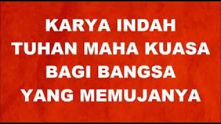 INDONESIA PUSAKA + LIRIK ( BEST COVER )